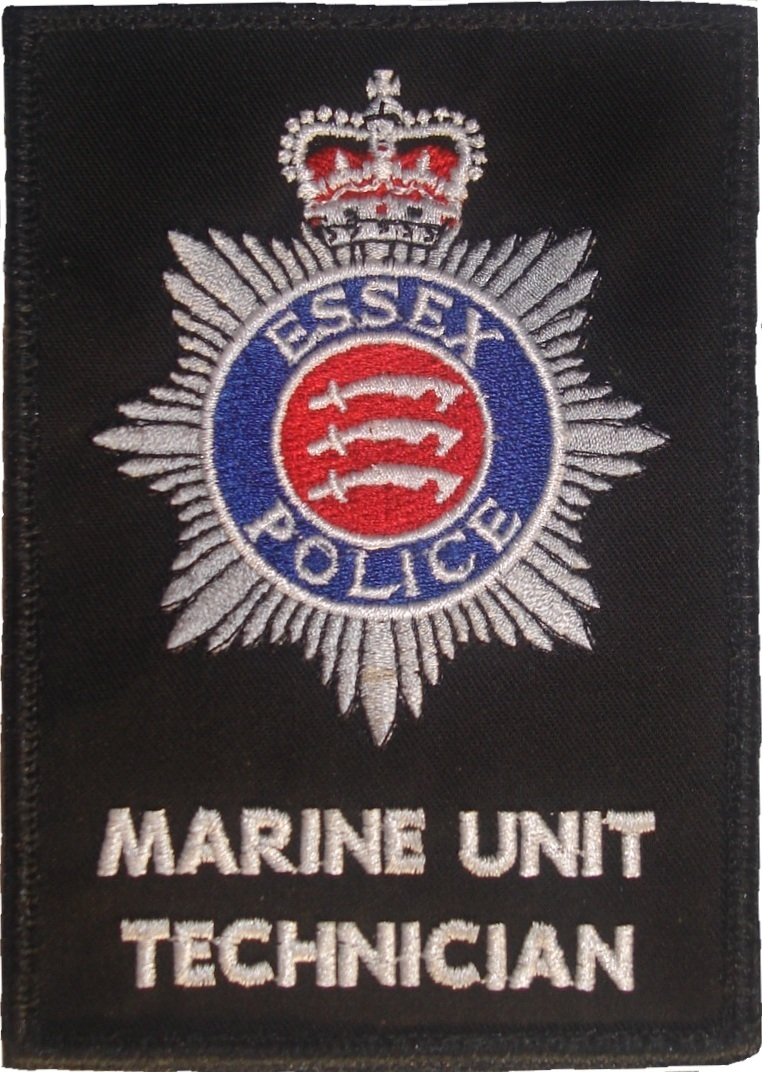 Essex Police Marine Unit patch