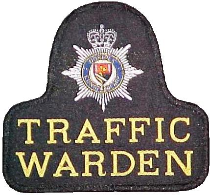 Norfolk Police Traffic Warden patch
