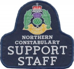Northern Constabulary Support Staff patch