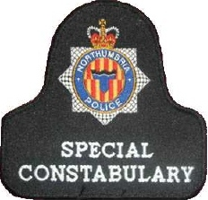 Northumbria Special Constabulary bell patch
