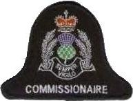Strathcylde Police Commissionaire patch