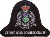 Strathcylde Police Deputy Head Commissionaire patch