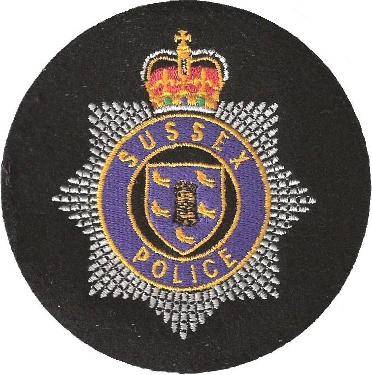 Sussex Police round patch