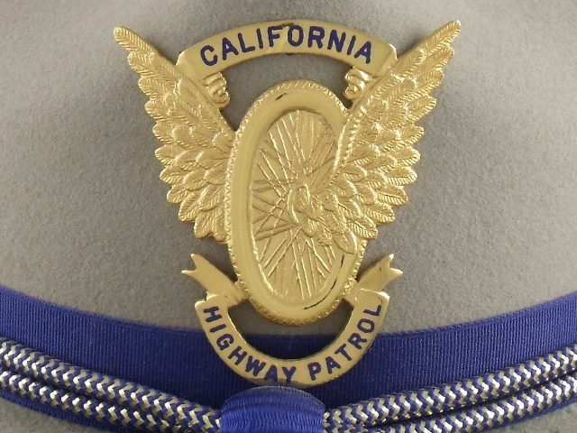 California Highway Patrol hat badge
