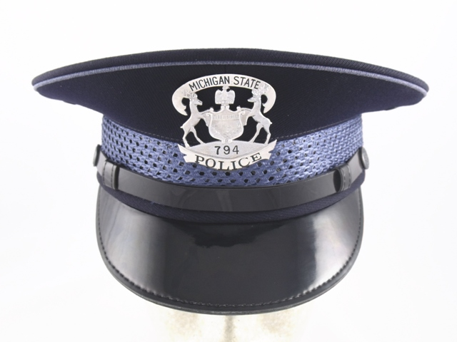 Michigan State Police flat hat