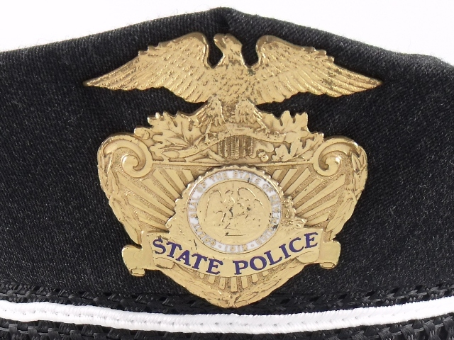 New Mexico State Police hat badge