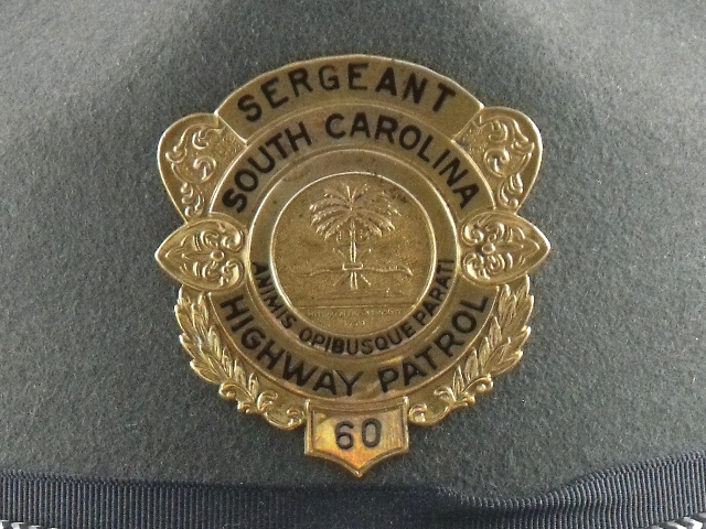 South Carolina Highway Patrol hat badge